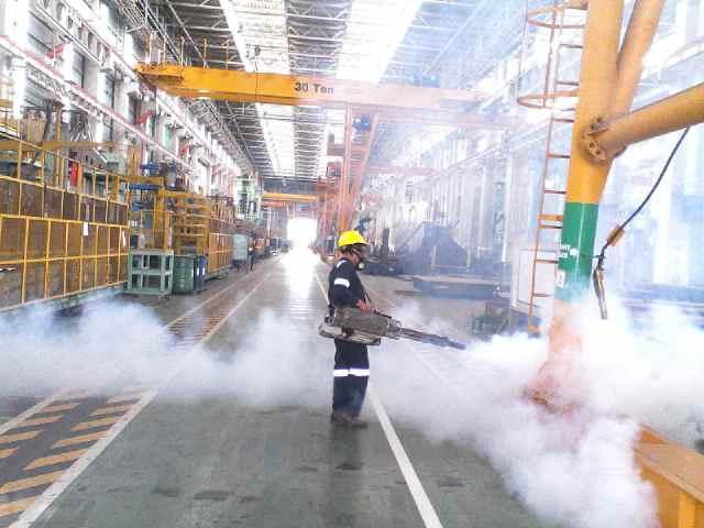 fogging_HCMI_MM2100_oleh_biosis